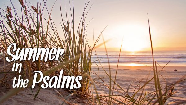 Summer in Psalms: Part 1 Psalm 34 Image